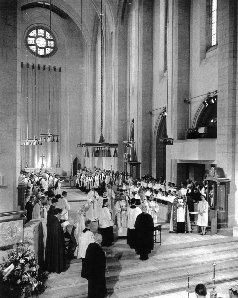 Image: Consecration of Guildford Cathedral