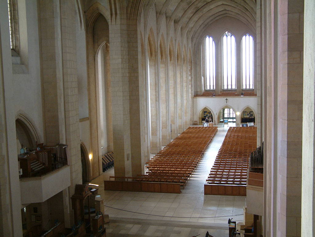 Image: The Nave, Guildford Cathedral