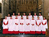 Thumbnail of the Lay Clerks of St Albans 1997 - click to enlarge